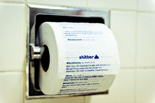 Take Your Tweets To The Toilet With Shitter.