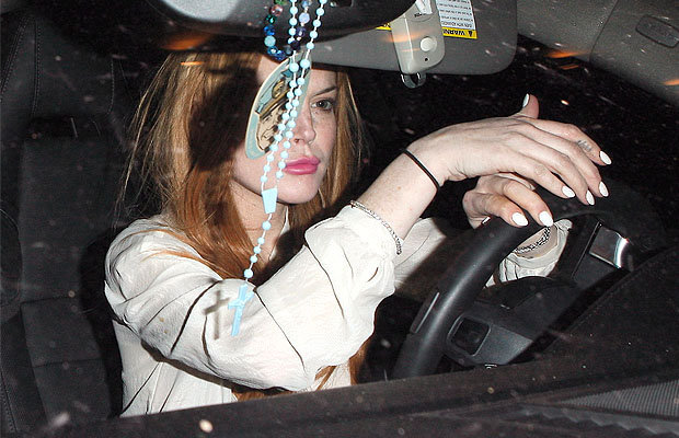 Lindsay Lohan insists she is not a hit and run disaster.