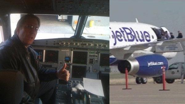 Jet Blues Clayton Osbon said to be ranting religious sermons freaking co pilot out.