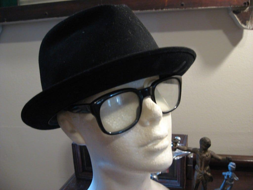 Hipster attire.
