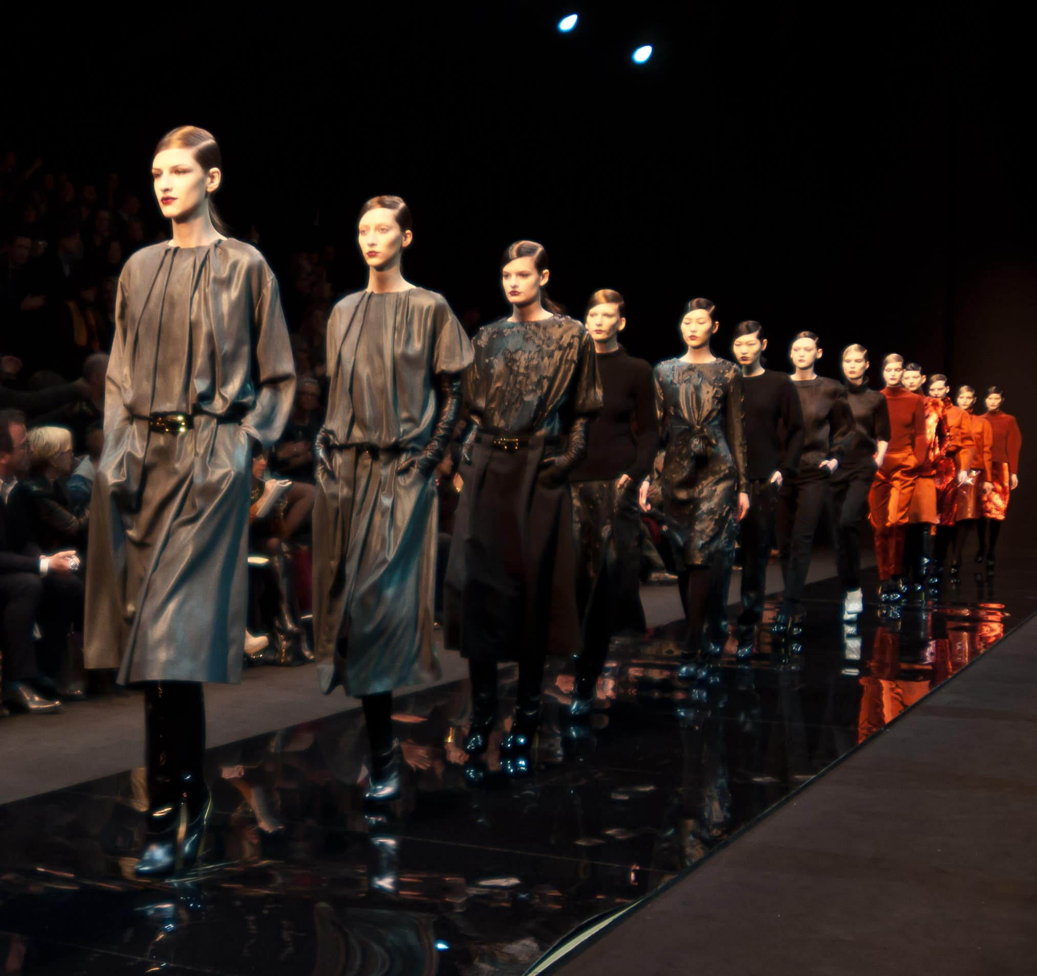 Photography via Dan Stern. Paris Fashion week 2012 Autumn/Winter.