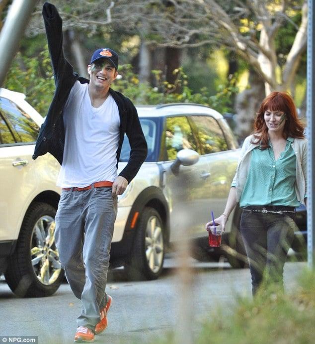 Ashton Kutcher and rumored new love interest