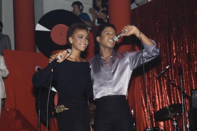 Whitney Houston and Jermaine Jackson