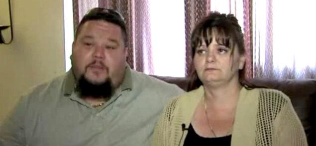 The boy's parents,