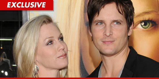 Peter Facinelli and Jennie Garth. Images via TMZ