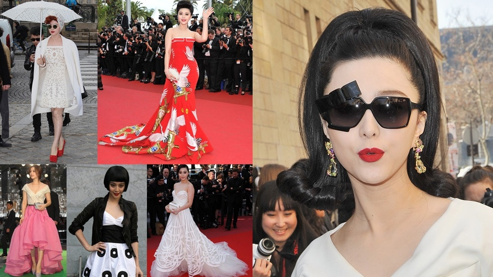 Fan Bingbing is a preferred hawt bixch. Images via jezebel.