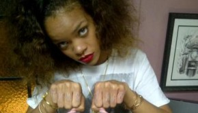 Rihanna. It's just a thug's life.
