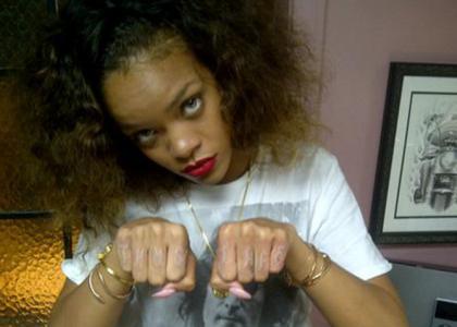 Rihanna. It's just a thug's life.