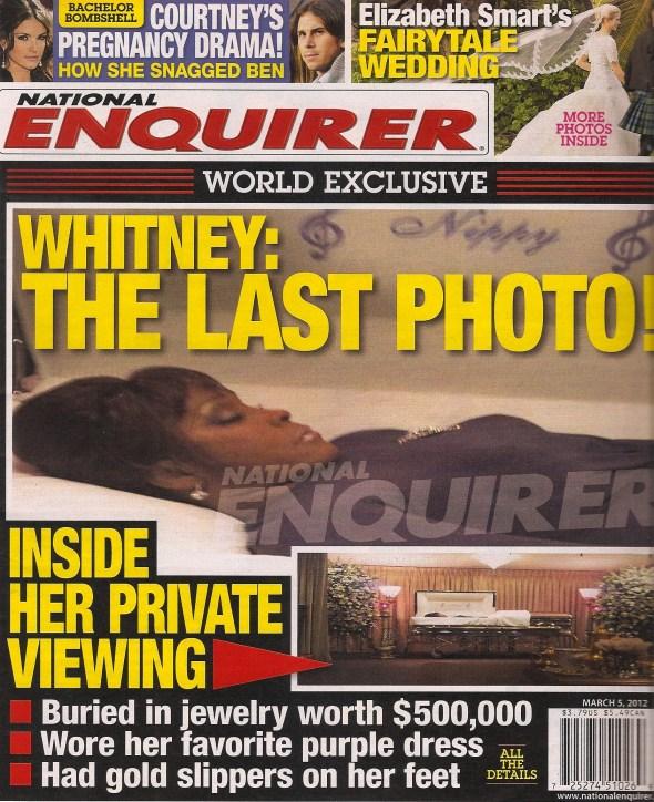 Whitney Houston casket photo leaker. New culprit surfaces...