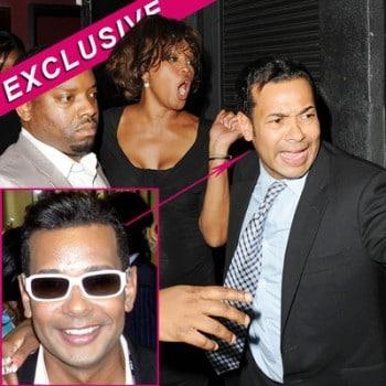 Whitney Houston and her enabler Raffles van