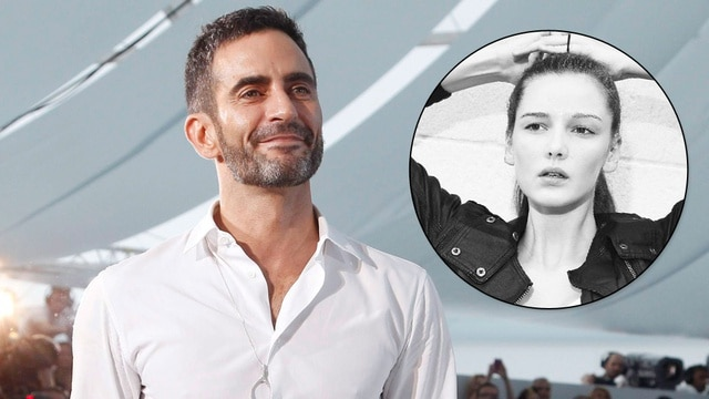 Marc Jacobs and Hailey Hasbrook. Image via jezebel.