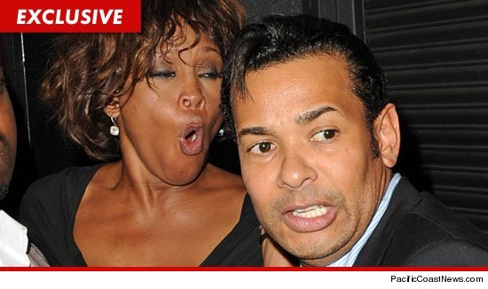 Whitney Houston and Raffles van Exel.