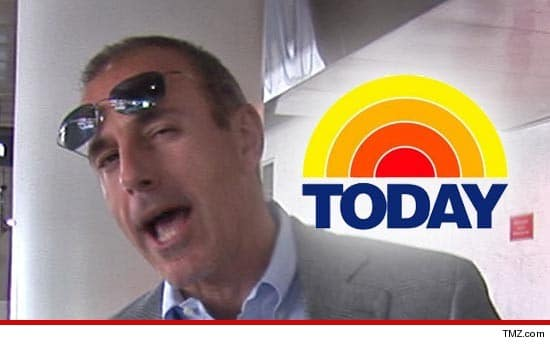 Matt Lauer re signs with the Today show whilst Ann Curry is a goner.