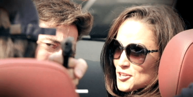 Pippa Middleton gun photo