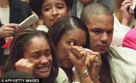 at the moment his father oj simpson was found not guilty jason simpson ...