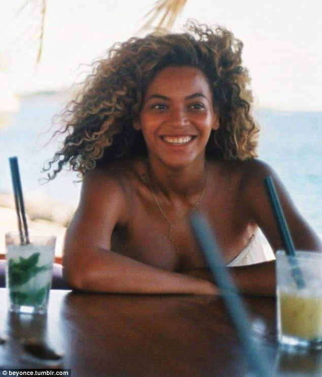 Beyonce goes back to being a media whore. Launches tumblr.