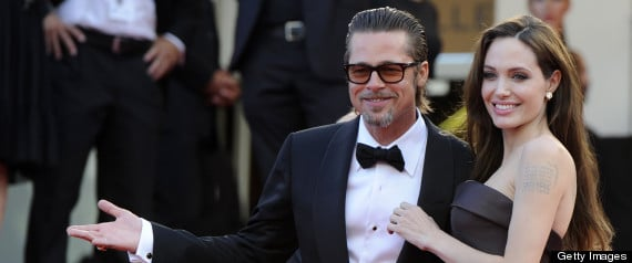 And now we'll all sleep better tonight. Brangelina announce their engagement.