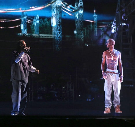 Tupac  Hologram live at Coachella
