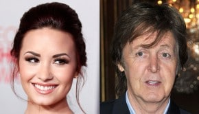 Demi Lovato and Paul McCartney