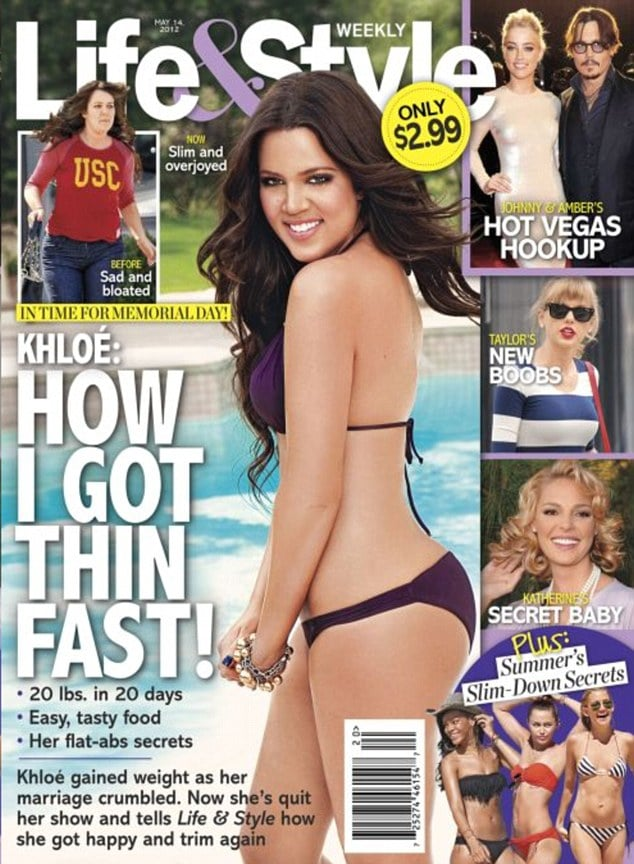 Khloe Kardashian is now a hawt bixch