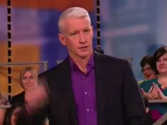 Anderson Cooper kicks Human Barbie off air.