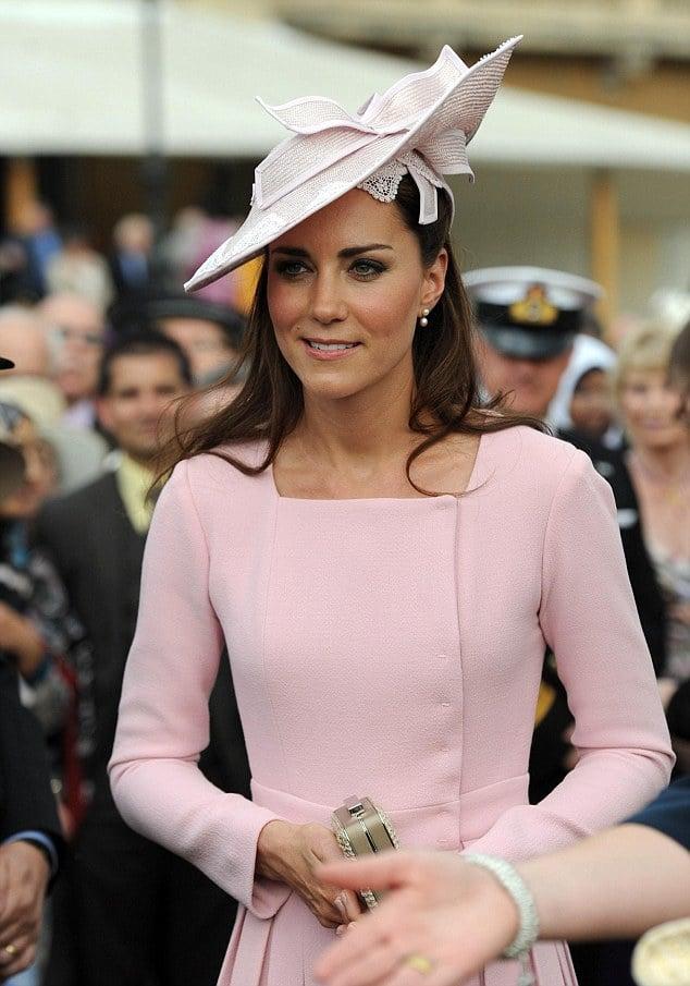 Kate Middleton attends Buckingham Palace garden party