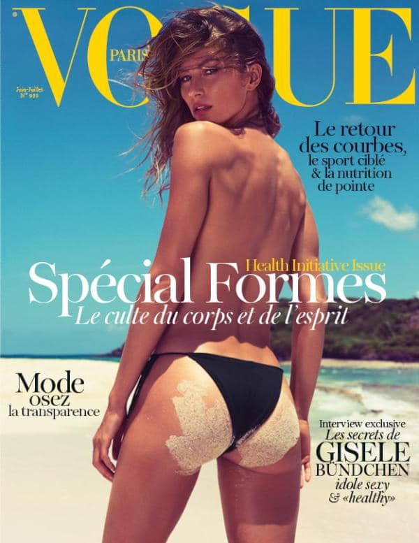 Gisele Bundchen for Paris Vogue