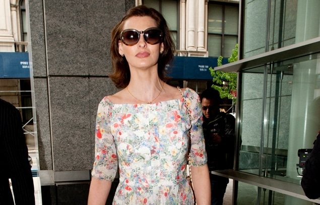 Linda Evangelista would like to tell you that she wasnt able to grab anywhere near $46 000 a month from her precious ex billionaire boyfriend.