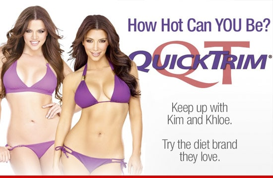 Kardashian sisters for Quick Trim