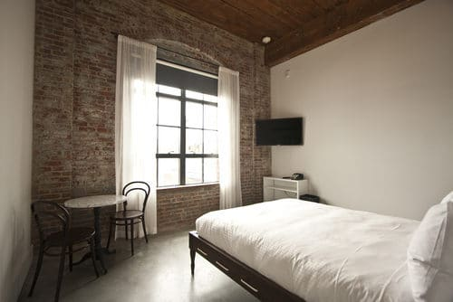 Williamsburg's Whythe hotel. Images via curbed.