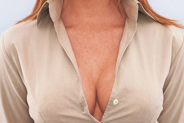 Inappropriate cleavages will no longer be tolerated on Southwest airlines!
