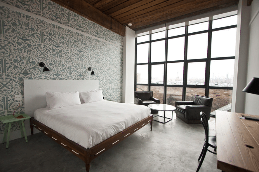 Williamsburg is officially gentrified. Hipsters can now check in at the Whythe Hotel.