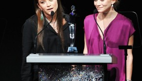 Womenswear Designers of the Year, Mary Kate and Ashley Olsen.