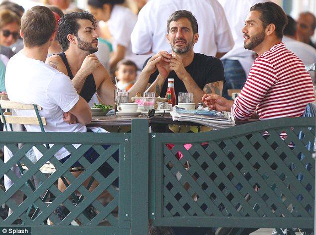 Marc Jacobs, Lorenzo Martone, Harry Louis