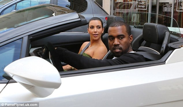 Kim Kardashian and Kayne West. Two very hawt bixches.