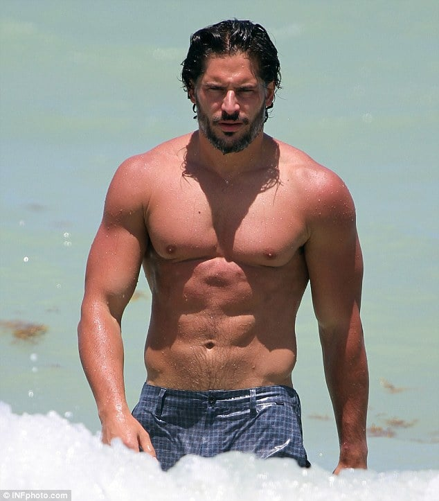 Joe Manganiello: 'Did I make you cream in your pants this weekend?'