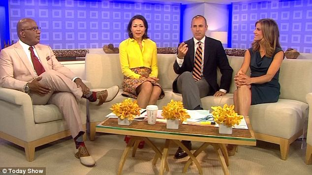 Ann Curry doesnt care that shes fired. Im here to stay!
