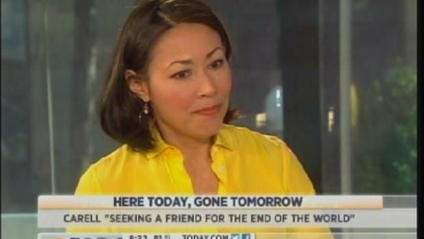 Ann Curry finding herself on the wacking stick.