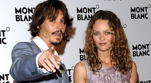 Johnny Depp and Vaneswsa Paradis.