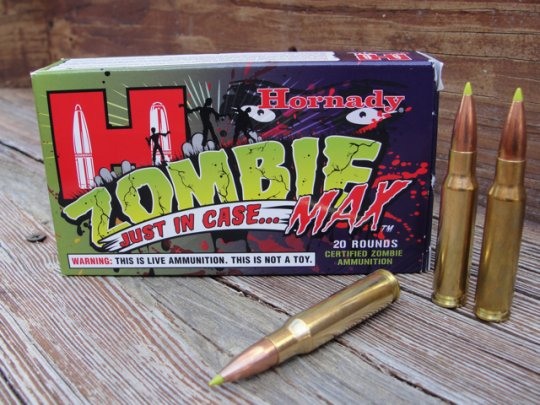 Zombie Max ammo might save your life!