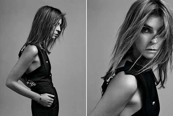 Carine Roitfeld is a very hawt bixch too thank you very much!