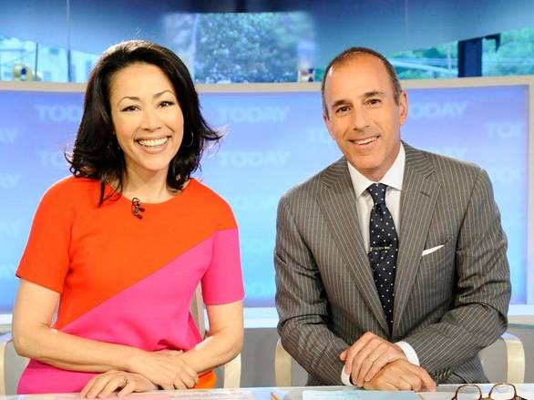 Ann Curry and Matt Lauer during happier times
