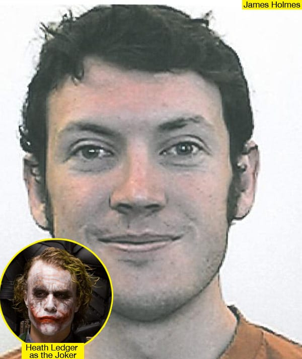 James Holmes. Did he aspire to be the villain?