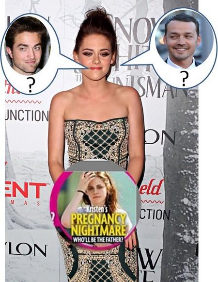 Could Kristen Stewart be pregnant?