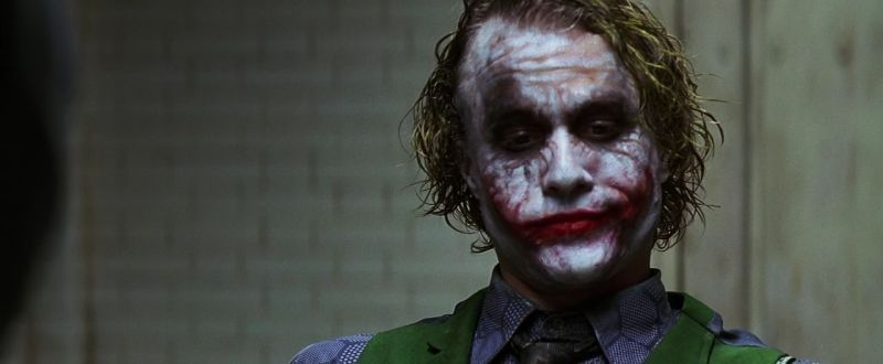 James Holmes as the joker?