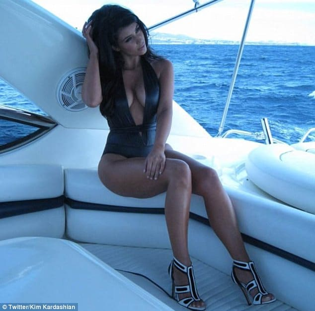 Kim Kardashian tweets; Good Morning Miami