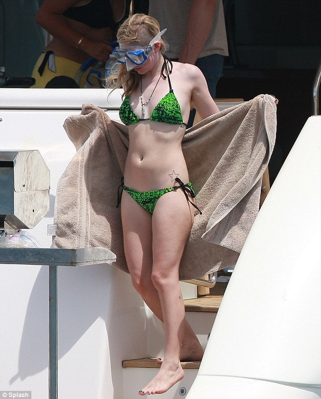 Good morning Avril Lavigne. Are you ready for some snorkeling today?