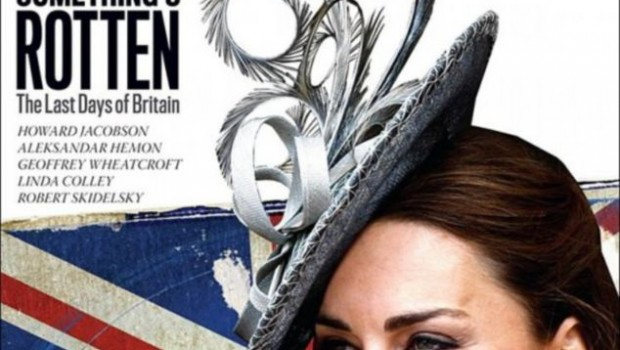 Kate Middleton appears on 'The New Republic.'