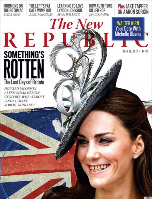 Oh dear! What happened to Kate Middletons teeth?