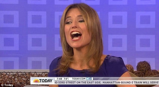 Savannah Guthrie got an extended hello on this morning's The Today show.